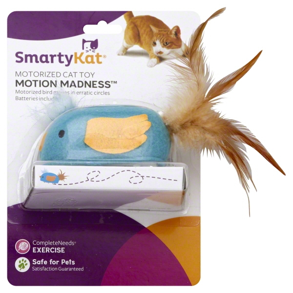 SmartyKat® Motion Madness™ Bird Electronic Motion Cat Toy