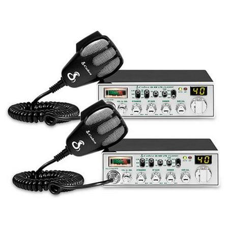 Cobra 29 LTD Classic (2 Pack) CB Radio by