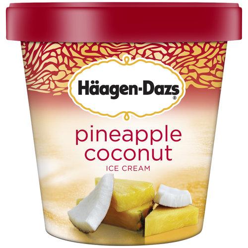 Haagen-Dazs Pineapple Coconut Ice Cream, 14 oz