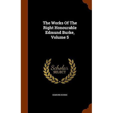The Works of the Right Honourable Edmund Burke, Volume 5 - image 1 de 1