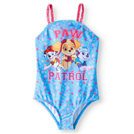 PAW Patrol Bow Back 1pc Swimsuit (Toddler Girls) - Toddler Swimsuits For Girls