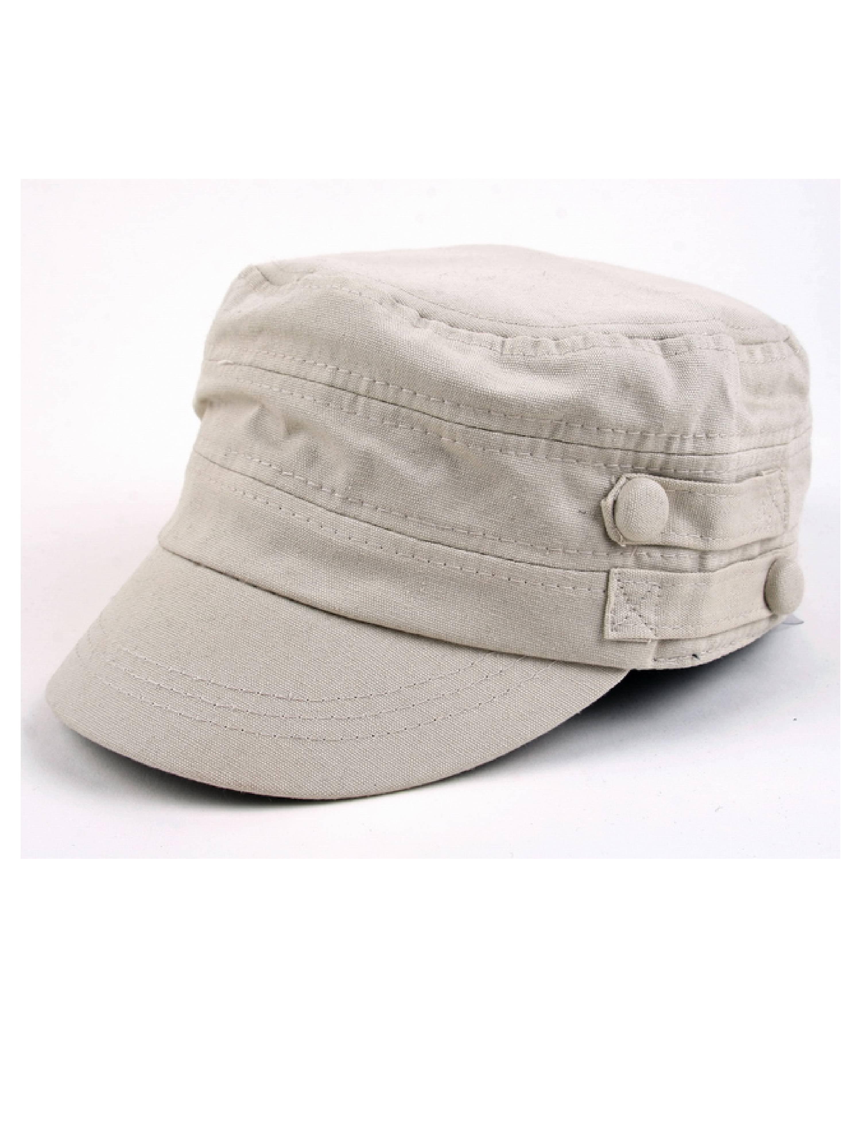 07c09d2d108 Spring Summer Military Inspired Cadet Hat P154 - Walmart.com