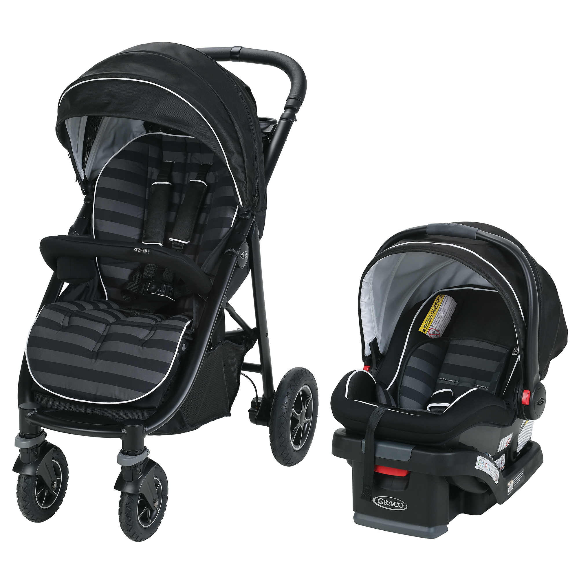 Graco Aire4 Platinum Travel System, Rockweave by Graco