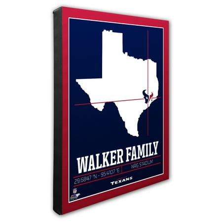 888450f141e1 Personalized NFL Houston Texans - Family Name   Stadium with GPS ...