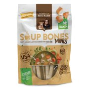 Rachael Ray Nutrish Soup Bones Minis Dog Treats, Chicken & Veggies Flavor, 4.2oz