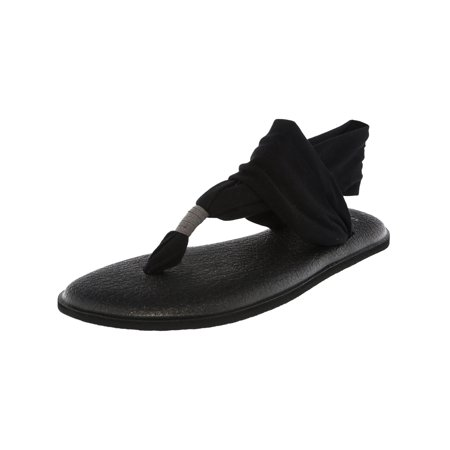 - Sanuk Women's Yoga Sling Black Sandal - 9M