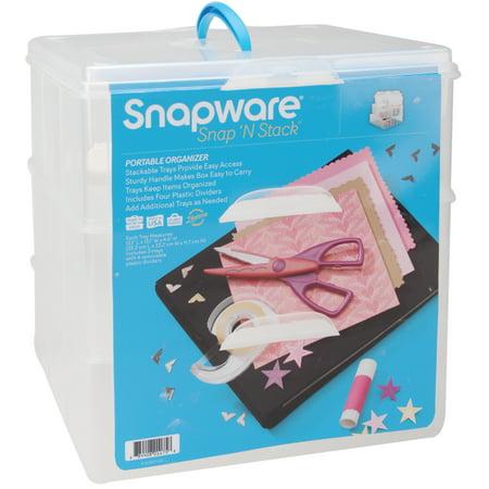 Upc 884408011758 Snapware 1098843 Snap N Stack Portable Organizer Upcitemdb Com