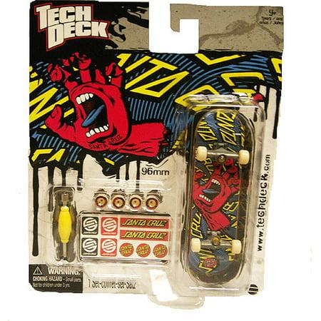 tech deck 96mm fingerboard santa cruz screaming hand