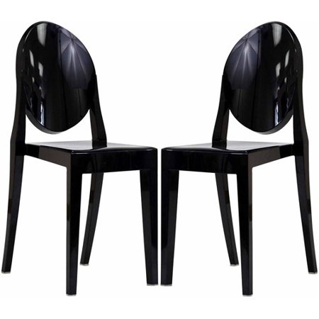 Modway Casper Stackable Dining Side Chair Set Of 2