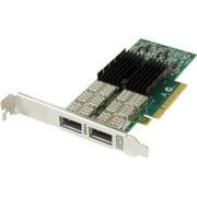 ENET PCIE3.0 X8 2CH 40GB LOW PROFILE QSFP+ 30M QSFP+ INCLUDED