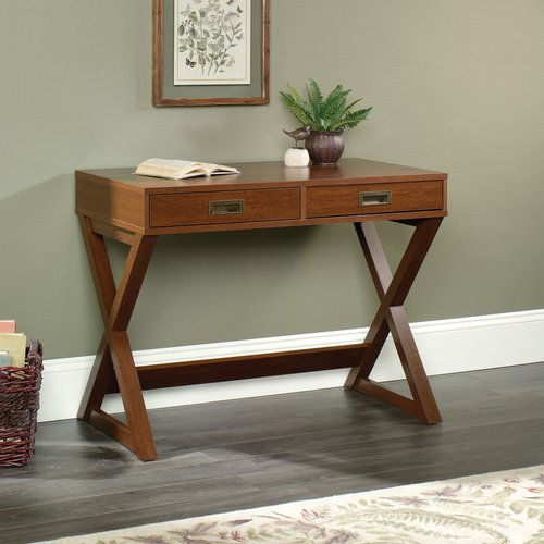 Better Homes and Gardens Maddox Crossing Campaign Writing Desk, Cognac