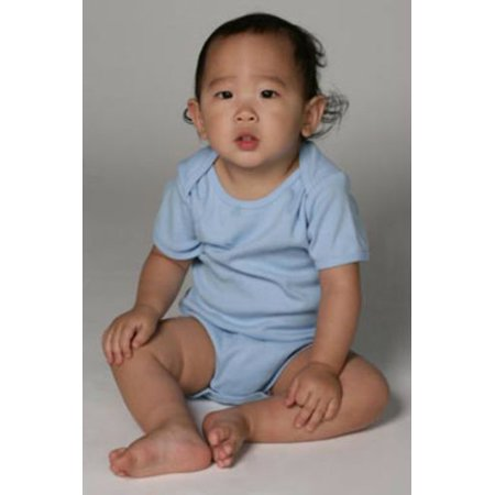 Organic Cotton Baby Rib Short Sleeve One Piece (18-24 Months,