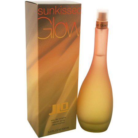 Jennifer Lopez Sunkissed Glow Eau de Toilette Spray for Women, 3.4 fl oz