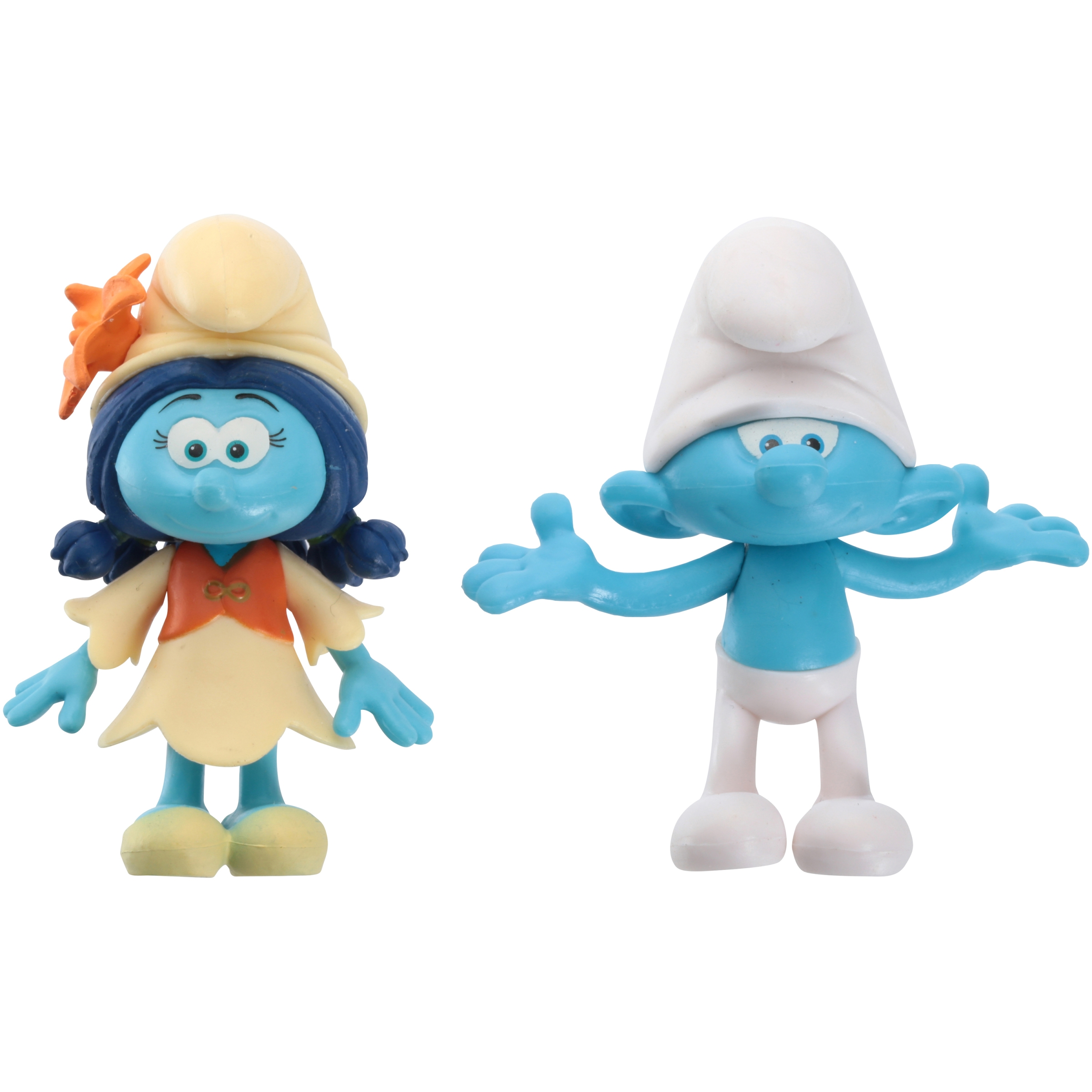 Smurfs™ The Lost Village Clumsy Smurf™ & Smurflily™ 2 pc Carded Pack