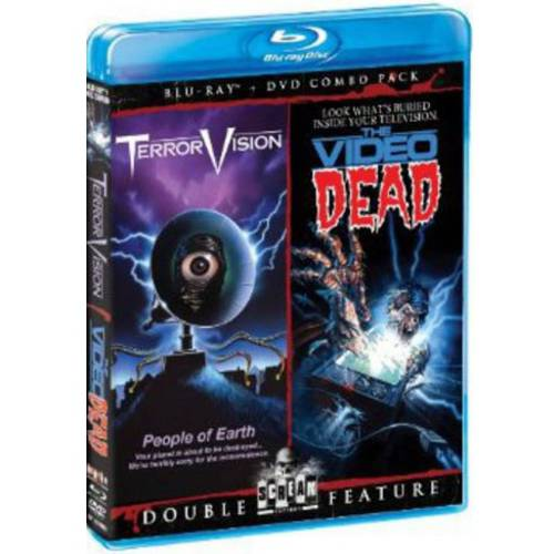 TerrorVision / The Video Dead (Blu-ray   DVD) (Widescreen)