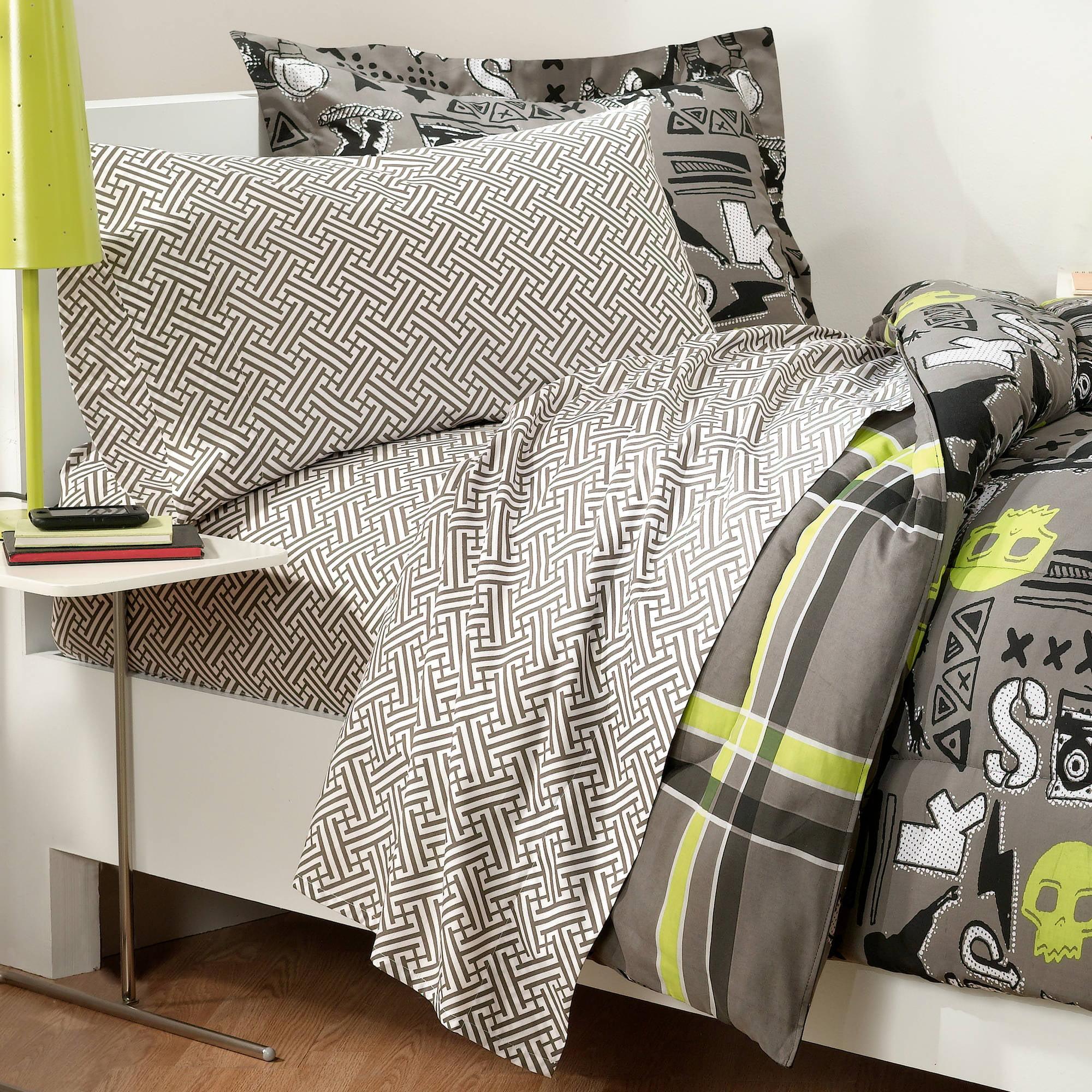 Comforter Full Size Bedding Set Kids Boys Bed In A Bag Reversible Bedroom  Cover