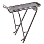 "XLC, alum rear Carrier Rack 24""-700C Bk"