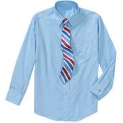 George - Boys' Dress Shirt And Tie Set