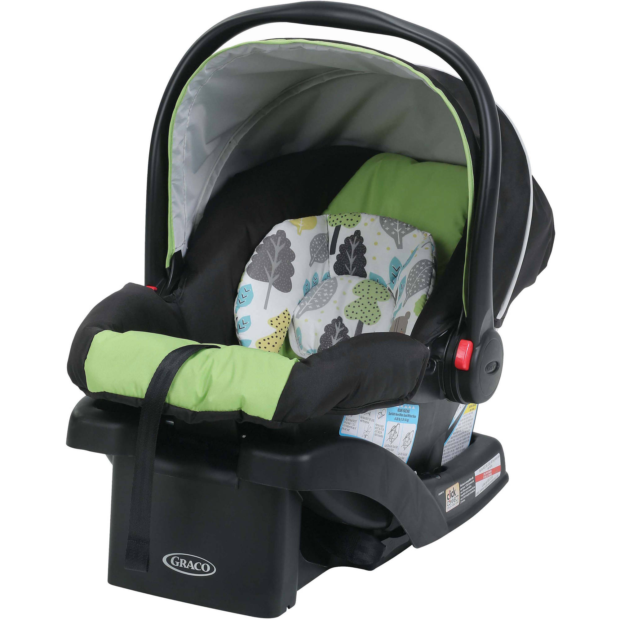 Graco SnugRide 30 Click Connect Infant Car Seat with Front Adjust, Bear Trail