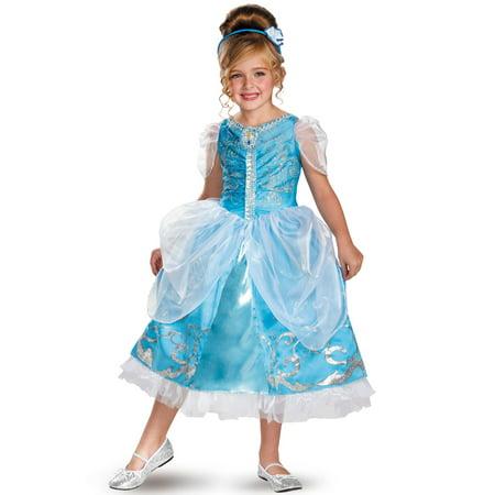 // Disney Cinderella Deluxe Child Toddler Costume//