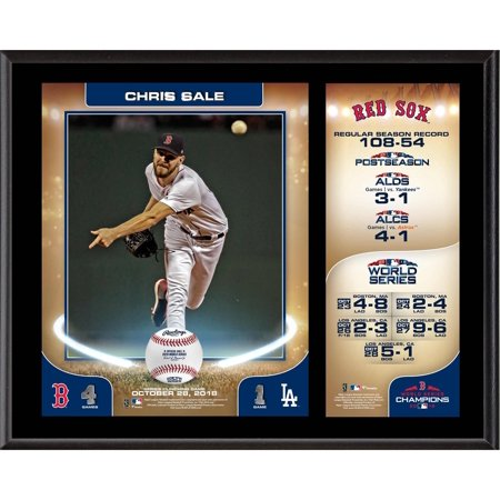 Chris Sale Boston Red Sox 2018 MLB World Series Champions 12