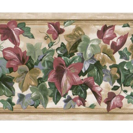 Colorful Borders (879093 Colorful Ivy Leaves Wallpaper)
