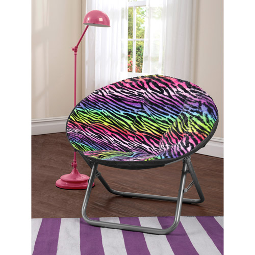 Cocoon Faux Fur Saucer Chair, multiple colors