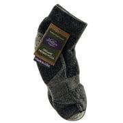 Maggie's Organics - Wool Crew Singles, Lowcut Cushion Black 9-11
