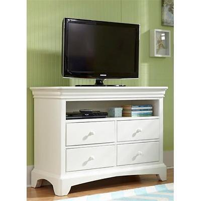 Newoffer My Home Furnishings Neopolitan Bright White 1902 413 Media Chest 4 Drawers Furniture Gss170123321