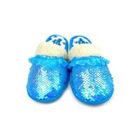 Disney Frozen 2: Elsa Reverse Sequin Slippers