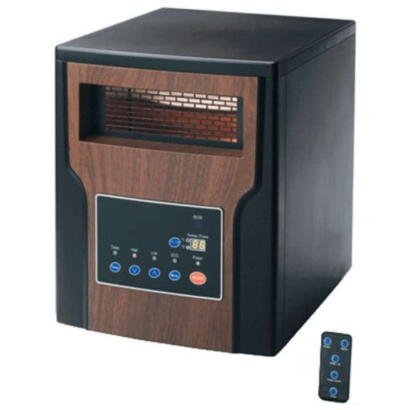 Ningbo Konwin Electrical Appliance GD9315BC2-X Infrared Heater With Remote Control, 600-Sq. Ft. Coverage
