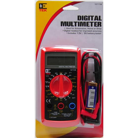 Etek Digital Multimeter : E tek digital multimeter w photos and