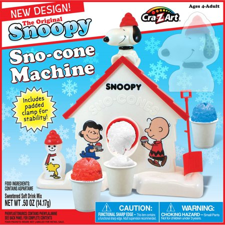 Snoopy Sno-Cone Machine by Cra-Z-Art