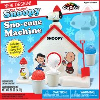 Snoopy Sno-Cone Machine by Cra-Z-Art - Make Tasty Sno-Cones Fast and Easy!