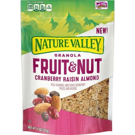 Nature Valley Cranberry Raisin Almond Fruit Nut Granola