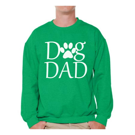 Awkward Styles Dog Dad Sweatshirt Dog Dad Sweater Dog Lover Crewneck for Men Best Dad Gift Dog Owner Sweater Fathers Day Gifts for Dad Dog Dad Outfit for Men Pet Loving Sweatshirts for (Best Dog Breeds For Cold Weather)