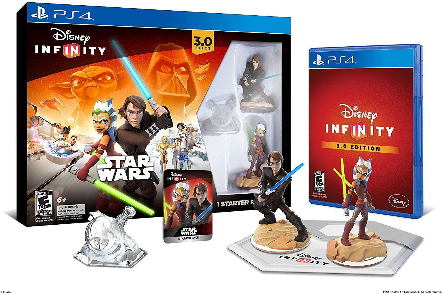 :Star Wars Starter Pack 3.0 Edition Playstation 4..., By Disney Infinity Ship from US by