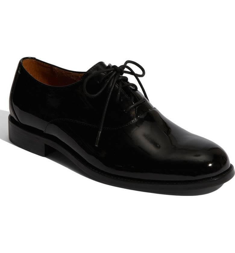Kingston Oxford Black Patent 8