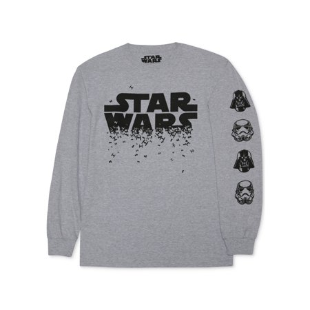 Star Wars Mens Logo Graphic T-Shirt htrgry S - image 1 of 1