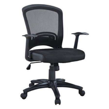 Manhattan Comfort Gracie Classic Adjustable Office Chair - Black ()