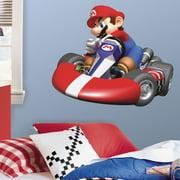 Wallhogs Super Mario Mario Kart Wii Room Makeover Wall Decal
