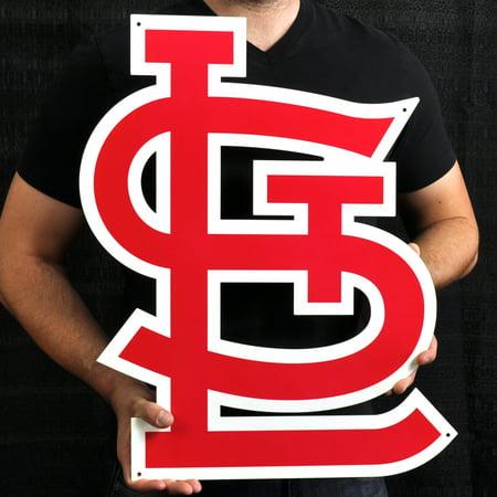"St. Louis Cardinals 22"" STL Lasercut Steel Logo Sign - image 1 of 1"