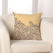 Checkerboard, Ltd Cascading Floral Throw Pillow