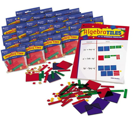 Learning Resources Algebra Tile Class Set, Ages 11+