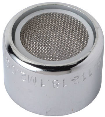 """Faucet Aerator, Female, Chrome-plated Brass, 55/64"""", Brass Craft, SF0058X"""