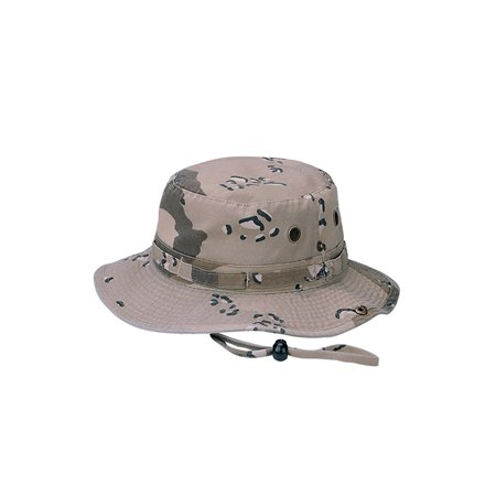 Top Headwear Camouflage Twill Washed Hunting Bucket - Led Headwear