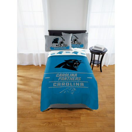 "- NFL Carolina Panthers ""Monument"" Twin/Full Comforter"