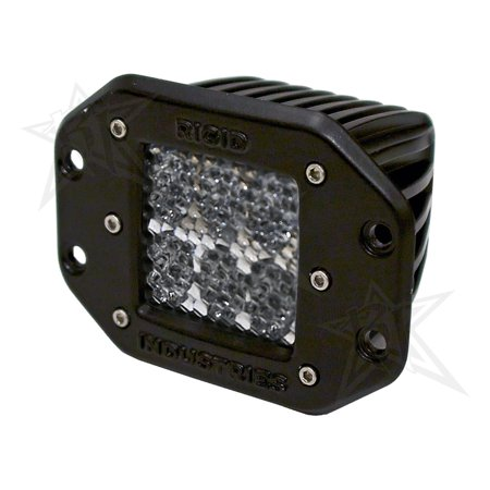 Rigid Industries 51251 D2-Series (Dually) Driving/ Fog Light - LED - image 1 of 1