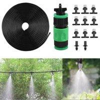 "EEEkit Drip Irrigation Kits,Garden Irrigation Accessories,Plant Watering System with 1/4"" Blank Distribution Tubing Hose,DIY Plant Garden Hose Watering Kit"