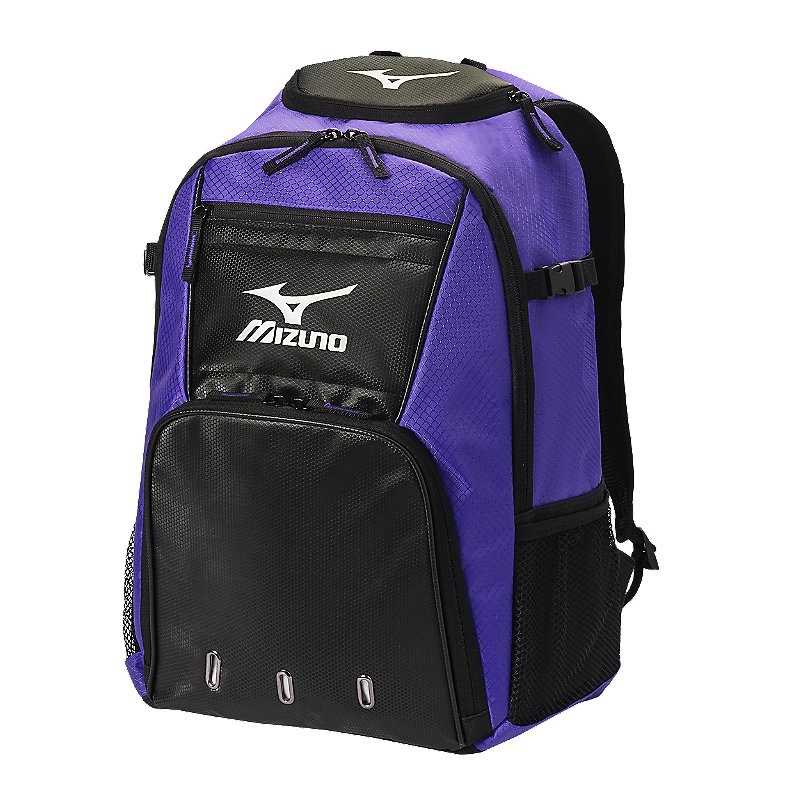 Mizuno Organizer G4 Backpack - Purple/Black